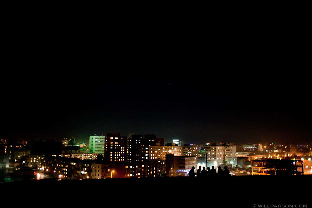 Ulaanbaatar, the capital of Mongolia