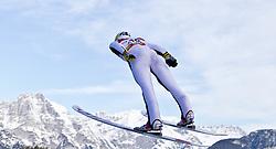 16.01.2011, Casino Arena, Seefeld, AUT, FIS World Cup, Nordic Combined, Probedurchgang, im Bild Sebastien Lacroix (FRA) , during Nordic Combined at Casino Arena in Seefeld, Austria on 15/1/2011, EXPA Pictures © 2011, PhotoCredit: EXPA/ P. Rinderer