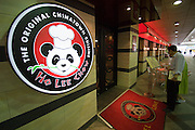 Jamsil. Lotte department store. Ho Lee Chow Chinatown cuisine.