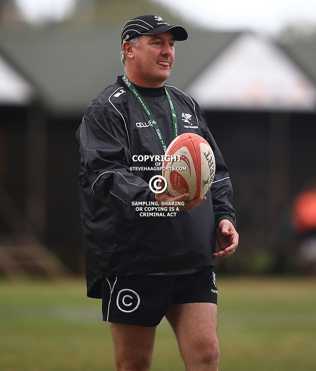DURBAN, SOUTH AFRICA Tuesday 7th July 2015 - Gary Gold (Sharks Director of Rugby) during the Cell C Sharks training session at Growthpoint Kings Park in Durban, South Africa. (Photo by Steve Haag)