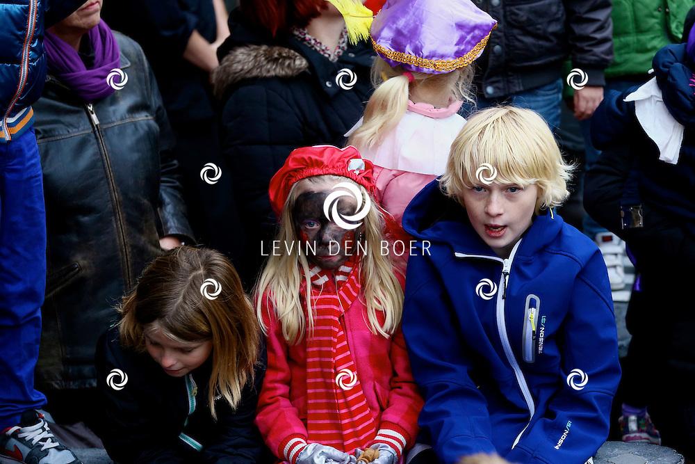 ZALTBOMMEL - De intocht van Sinterklaas in Zaltbommel. FOTO LEVIN DEN BOER - PERSFOTO.NU