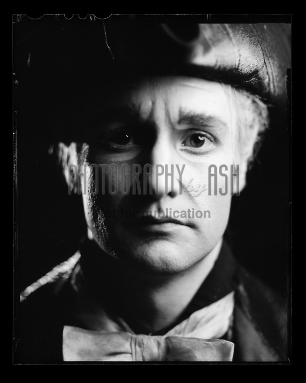 James Streeter as Drosselmeyer from English National Ballet's Nutcracker. London Coliseum Theatre 28 December 2015. Taken on 4x5 large format camera. Photo: Arnaud Stephenson