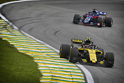 November 9, 2018 - Sao Paulo, Brazil - 55 SAINZ Carlos (spa), Renault Sport F1 Team RS18, action during the 2018 Formula One World Championship, Brazil Grand Prix from November 08 to 11 in Sao Paulo, Brazil -  FIA Formula One World Championship 2018, Grand Prix of Brazil World Championship;2018;Grand Prix;Brazil  (Credit Image: © Hoch Zwei via ZUMA Wire)