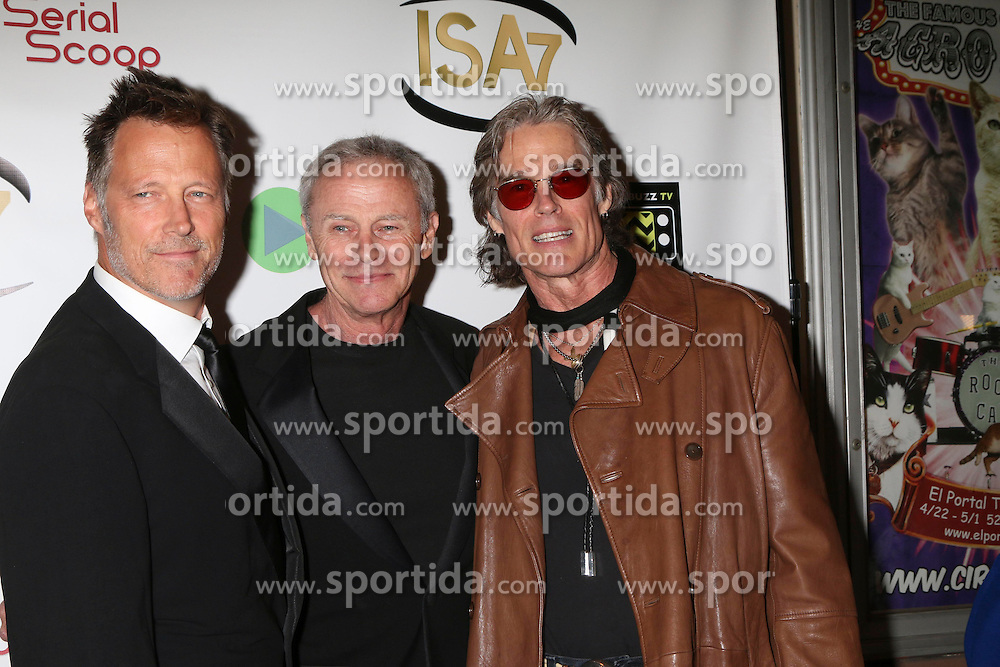 Matthew Ashford, Tristan Rogers, Ronn Moss at the 7th Annual Indie Series Awards at the El Portal Theater on April 6, 2016 in North Hollywood, CA. EXPA Pictures © 2016, PhotoCredit: EXPA/ Photoshot/ Kerry Wayne<br /> <br /> *****ATTENTION - for AUT, SLO, CRO, SRB, BIH, MAZ, SUI only*****