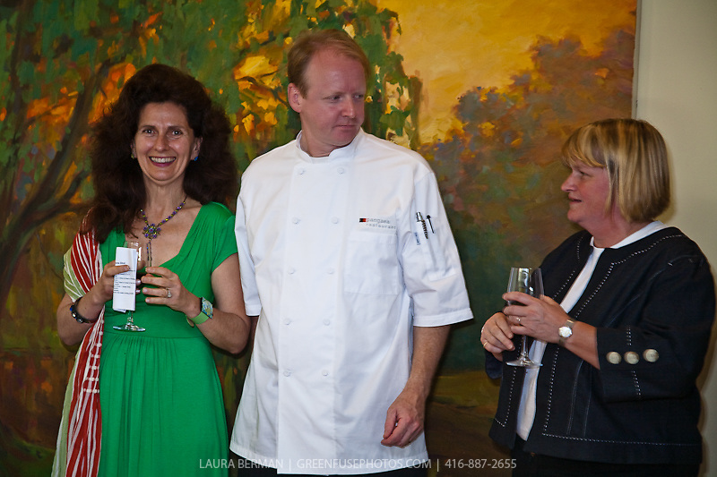 Women's Culinary Network  reception to honour Jennifer McLagan and Naomi Duguid, 2009 IACP  and James Beard Award Winners. ( June 22, 2009)