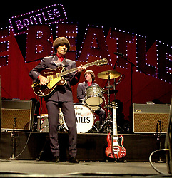 Tribute act the Bootleg Beatles Hallam FM Arena December 21st 2002<br /> <br /> <br />   21 December 2002<br />   Copyright Paul David Drabble<br />   www.pauldaviddrabble.co.uk