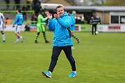 Forest Green Rovers manager, Mark Cooper during the Vanarama National League match between Forest Green Rovers and Chester FC at the New Lawn, Forest Green, United Kingdom on 14 April 2017. Photo by Shane Healey.