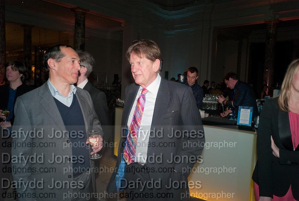 John Madejski , Cecil Beaton private view. V and A Museum. London. 6 February 2012