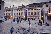 Dubrovnik in Yugoslavia.
