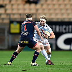 Antonie Claassen of Racing 92, Denis Coulson of Grenoble during the French Top 14 match between Grenoble and Racing 92 at Stade des Alpes on March 4, 2017 in Grenoble, France. (Photo by Romain Lafabregue/Icon Sport)