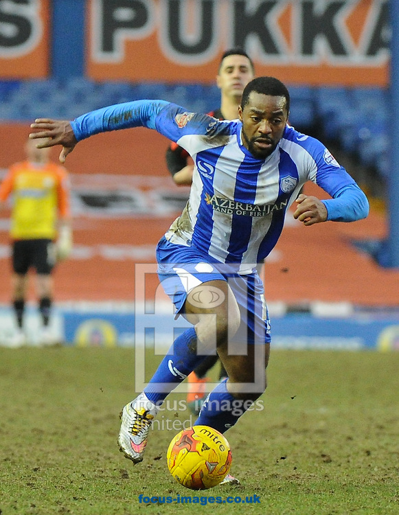 Jacques Maghoma of Sheffield Wednesday in action during the Sky Bet Championship match at Hillsborough, Sheffield<br /> Picture by Richard Land/Focus Images Ltd +44 7713 507003<br /> 14/02/2015