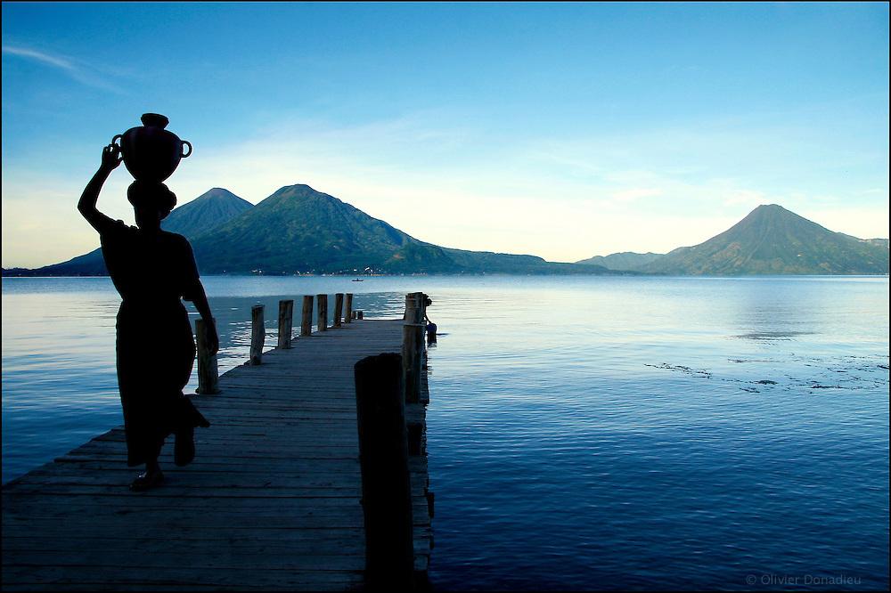 Lago de Atitlan. Santa Catarina Palopo
