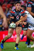 Nathaniel Roache. Auckland Warriors v St George Dragons. NRL Rugby League.Magic Round 2019 Suncorp Stadium, Brisbane, New Zealand. May 11, 2019. © Copyright photo: Patrick Hamilton / www.photosport.nz