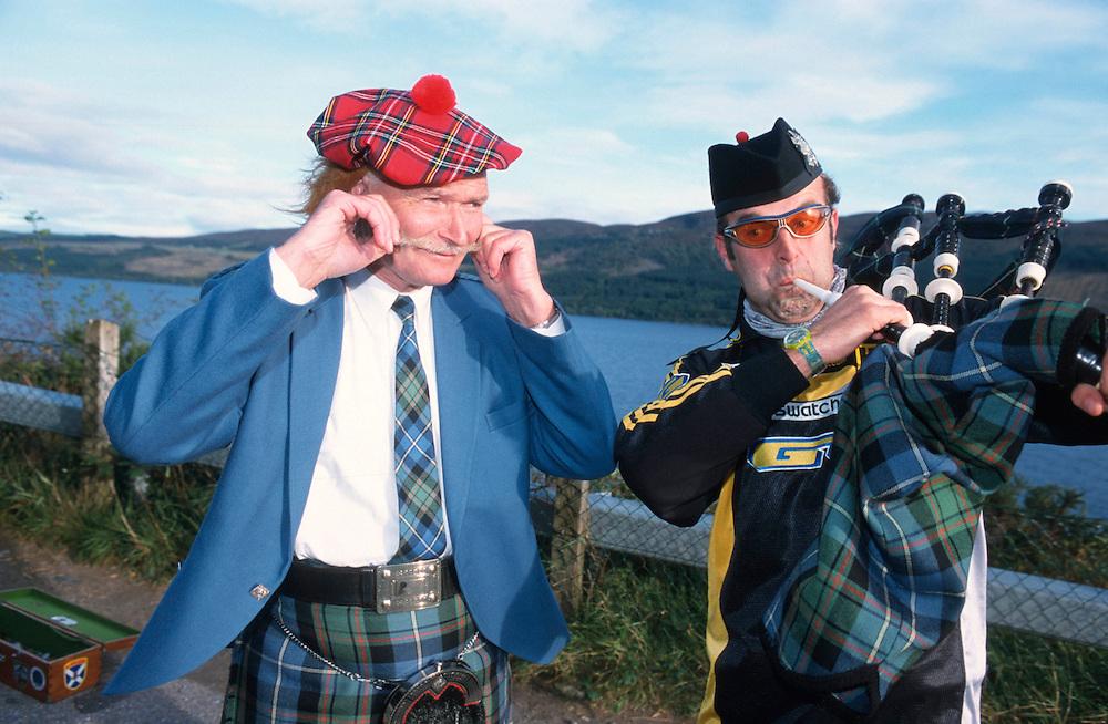 Hans Rey in Scotland, 2000