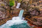 St. Mary Falls at Glacier National Park
