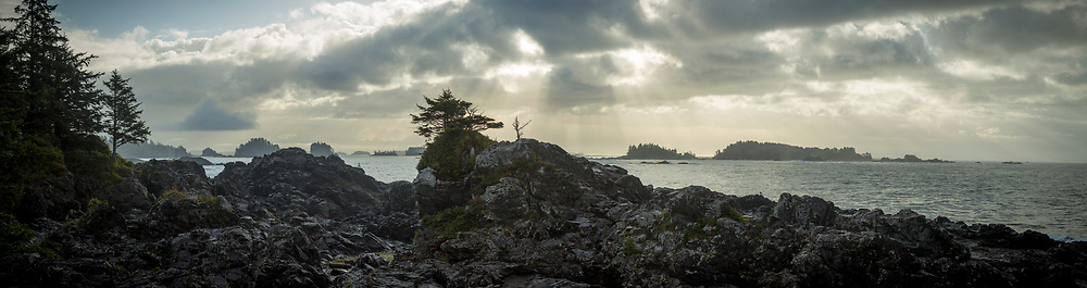 Clouds over Amphitrite Point, B.C.