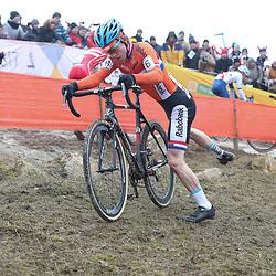 27-01-2017: Wielrennen: Wereldkampioenschap veldrijden: Luxemburg<br />BIELES (LUX) cyclocross  <br />Mees Hendrickx
