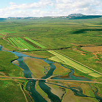 Hróaldsstaðir 2 séð til vesturs, Selá, Vopnafjarðarhreppur /  Hroaldsstadir 2 viewing west, Sela river, Vopnafjardarhreppur.