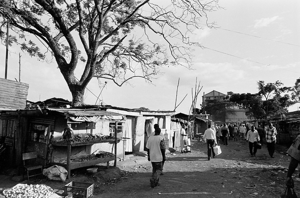 The Makina area is the heart of the Nubian community and has the largest concentration of Nubians in Kibera. In Nubi, Makina means 'gathering'. It is the location of the Makina mosque, the Kibera Primary School and is also one of the main entry points for people coming and going out of Kibera..