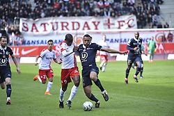 March 31, 2018 - Nancy, France - Abdelhamid Yunis vs Dalle (Credit Image: © Panoramic via ZUMA Press)