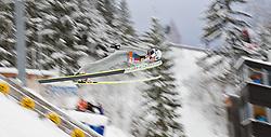 30.12.2011, Schattenbergschanze / Erdinger Arena, GER, Vierschanzentournee, FIS Weldcup, Probedurchgang, Ski Springen, im Bild Mackenzie Boyd-Clowes (CAN) // Mackenzie Boyd-Clowes of Canada  during the trial round at 60th Four-Hills-Tournament, FIS World Cup in Oberstdorf, Germany on 2011/12/30. EXPA Pictures © 2011, PhotoCredit: EXPA/ P.Rinderer