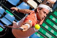 Rome, Italy 09/05/2007 - Tennis - Atp Masters Series - Internazionali d'Italia 2007. Filippo Volandri (ITA)