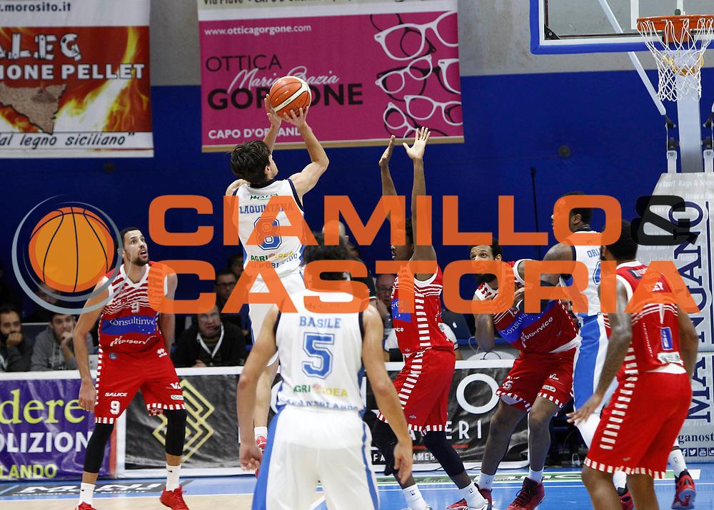 Capo d'Orlando 20/12/2015 - Basket Campionato Lega A 2015/16<br /> Betaland Capo d'Orlando-Consultinvest Pesaro<br /> nella foto: Tommaso Laquintana<br /> Foto Ciamillo