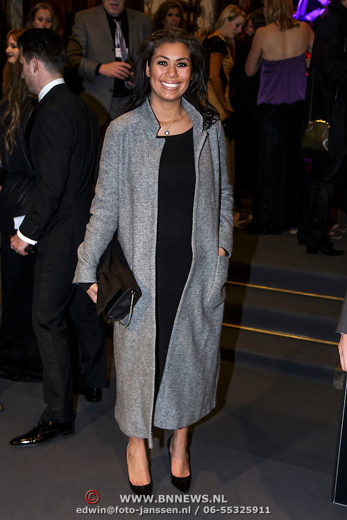 NLD/Amsterdam/20150211 - Premiere Fifty Shades of Grey, Cheyen van der Slee