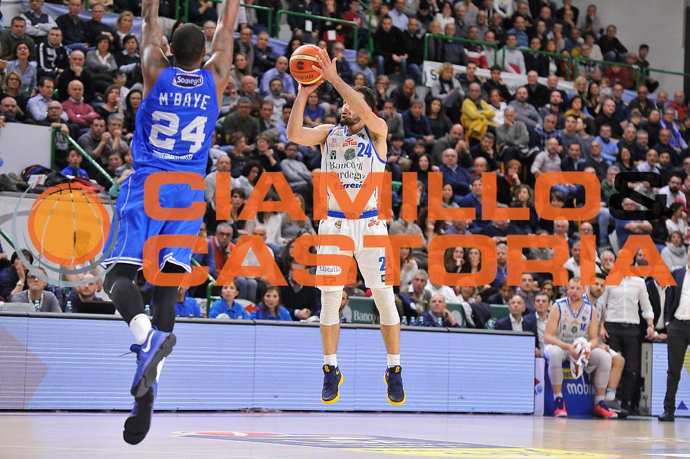 Rok Stipcevic<br /> Banco di Sardegna Dinamo Sassari - Enel New Basket Brindisi<br /> LegaBasket Serie A LBA Poste Mobile 2016/2017<br /> Sassari 02/04/2017<br /> Foto Ciamillo-Castoria