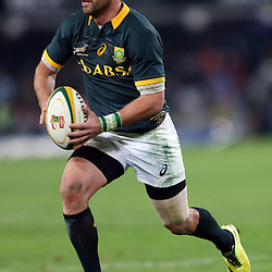 DURBAN, SOUTH AFRICA - JUNE 14: Willie le Roux of South Africa during the Incoming Tour match between South Africa and Wales at Growthpoint Kings Park on June 14, 2014 in Durban, South Africa. (Photo by Steve Haag/Gallo Images)