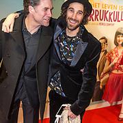 NLD/Amsterdam/20180122 - Filmpremiere Het leven is vurrukkulluk, Daniël Boissevain en Bart Rijnink