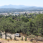Since federal timber payments have ceased in Josephine County and other parts of Southwest Oregon, the tax-base has shrunk. In Grants Pass, the county seat, shoplifting and other property crime are up, and law enforcement personnel numbers are down.