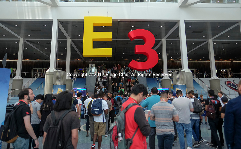 The 2017 Electronic Entertainment Expo (E3) takes place at the Los Angeles Convention Center on June 13, 2017.(Photo by Ringo Chiu)<br /> <br /> Usage Notes: This content is intended for editorial use only. For other uses, additional clearances may be required.