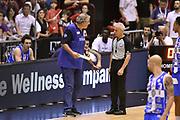 DESCRIZIONE : Milano Lega A 2014-15 EA7 Emporio Armani Milano vs Banco di Sardegna Sassari playoff Semifinale gara 7 <br /> GIOCATORE : Romeo Sacchetti Roberto Chiari arbitro<br /> CATEGORIA : arbitro allenatore delusione FairPlay <br /> SQUADRA : Banco di Sardegna Sassari arbitro<br /> EVENTO : PlayOff Semifinale gara 7<br /> GARA : EA7 Emporio Armani Milano vs Banco di Sardegna SassariPlayOff Semifinale Gara 7<br /> DATA : 10/06/2015 <br /> SPORT : Pallacanestro <br /> AUTORE : Agenzia Ciamillo-Castoria/GiulioCiamillo<br /> Galleria : Lega Basket A 2014-2015 Fotonotizia : Milano Lega A 2014-15 EA7 Emporio Armani Milano vs Banco di Sardegna Sassari playoff Semifinale  gara 7 Predefinita :