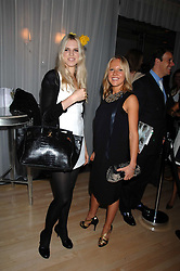 Left to right, ALEXANDRA AITKEN and ALICE BAMFORD at an Evening at Sanderson in Aid of CLIC Sargent held at The Sanderson Hotel, 50 Berners Street, London W1 on 15th May 2007.<br />