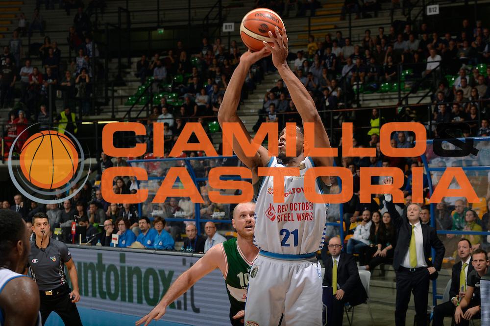 Tremmell Darden<br /> Red October Pallacanestro Cantu - Sidigas Scandone Avellino<br /> Lega Basket Serie A 2016/2017<br /> Desio, 12/12/2016<br /> Foto Ciamillo-Castoria