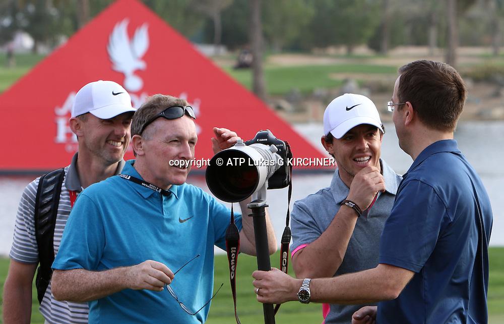Rory McIlroy, (IRL), Golf Pro - <br /> Abu Dhabi HSBC Golf Championship, 15. - 18. January 2015 - fee liable image, copyright &copy; ATP Lukas G KIRCHNER