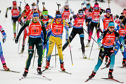 March 16, 2019 - –Stersund, Sweden - 190316 Vanessa Hinz of Germany and Linn Persson of Sweden competes in the Women's 4x6 km Relay during the IBU World Championships Biathlon on March 16, 2019 in Östersund..Photo: Johan Axelsson / BILDBYRÃ…N / Cop 245 (Credit Image: © Johan Axelsson/Bildbyran via ZUMA Press)