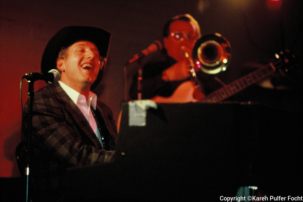 Jason D. Williams, 1990, performing in Memphis, Tennessee.