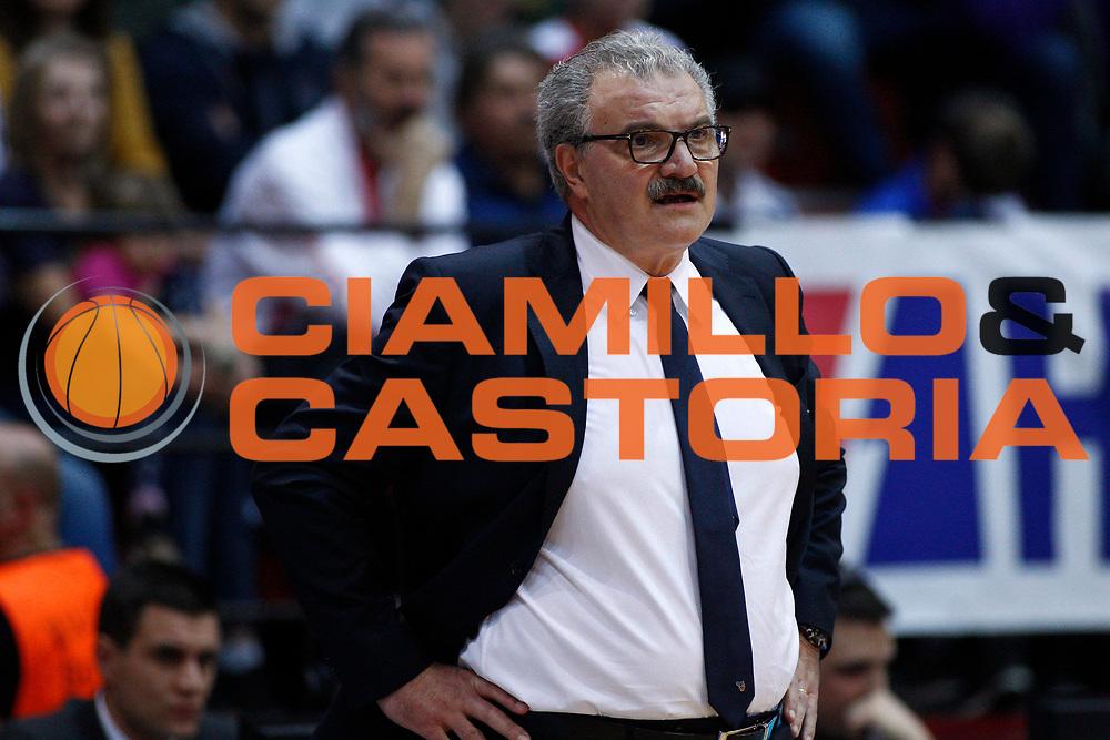 Sacchetti Romeo<br /> Nazionale Italiana Maschile Senior - 2019 FIBA Basketball World Cup Qualifiers<br /> Croazia Italia -  Croatia Italy<br /> FIP 2017<br /> Zagabria, 24/11/2017<br /> Foto   Ciamillo-Castoria