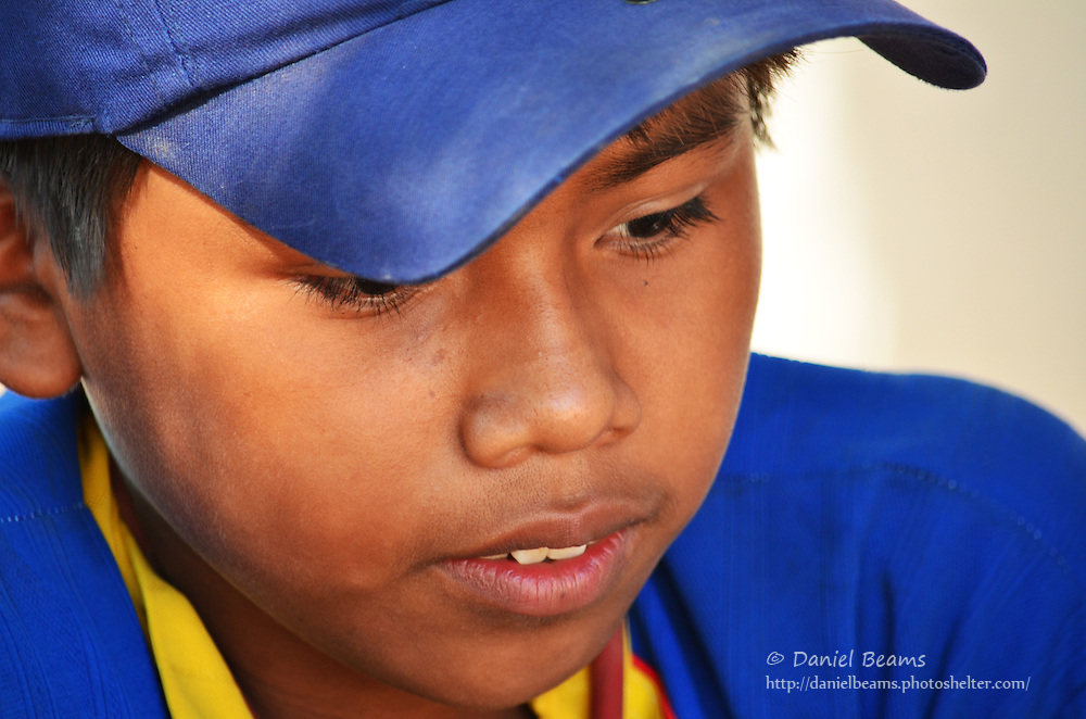 Guarani boy in Isosog