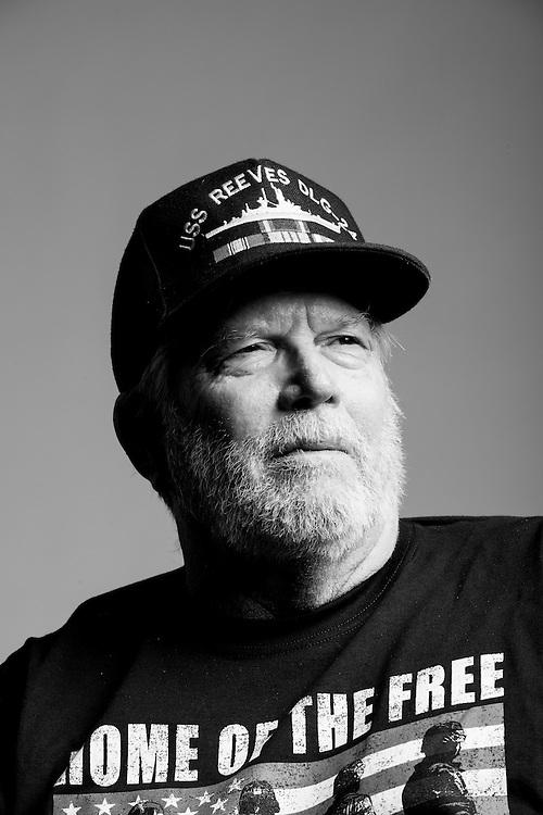 W. Daniel Rassett<br /> Navy<br /> ETR3<br /> Electronic Technician<br /> June 1965 - 1970<br /> Vietnam<br /> <br /> Veterans Portrait Project<br /> St. Louis, MO