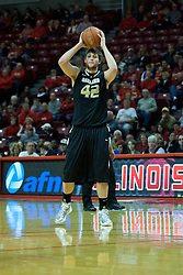 18 February 2012:  Corey Petros during an ESPN Bracketbuster mens basketball game Where the Oakland Golden Grizzlies lost to the Illinois State Redbirds 79-75 in Redbird Arena, Normal IL