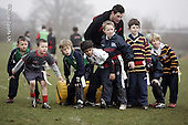 Saracens MasterClass at Old Albanians. 20-2-09. U6,7,and 8s