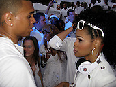 Chris Brown & Teyana Taylor 07/04/2009