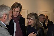 JAMES HOLLAND-HIBBERT; SARAH GRAHAM; Lyndsey Ingram Gallery launches<br /> 20 Bourdon Street . Mayfair<br />  London. 7 November 2017