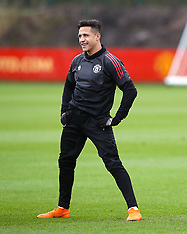 Manchester United Training Session and Press Conference - 12 March 2018