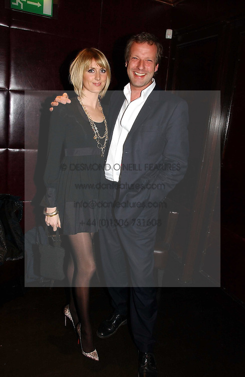 LADY EMILY COMPTON and HUGO BURNAND at The Christmas Cracker - an evening i aid of the Starlight Children's Charity held at Frankies, Knightsbridge on 13th December 2006.<br /><br />NON EXCLUSIVE - WORLD RIGHTS