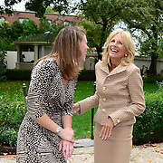 Meet/greet with Second Lady Dr. Jill Biden at the home of Sen. Martha Fuller Clark  and Dr. Geoffrey Clark in Portsmouth, NH. September 29, 2012.