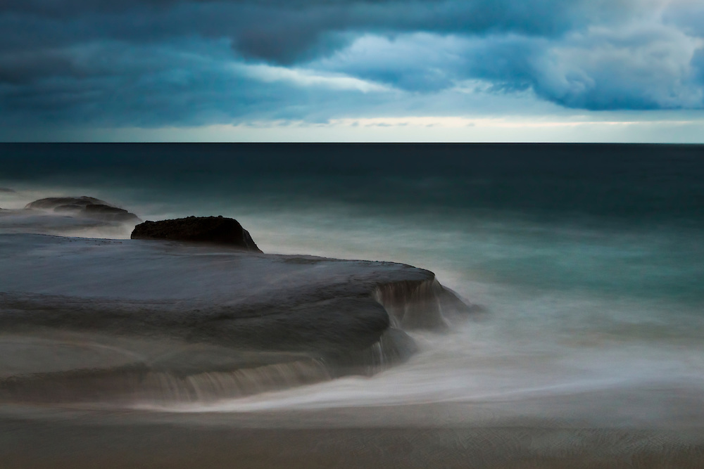 Stormy Surf - Aliso Creek Beach - Dusk
